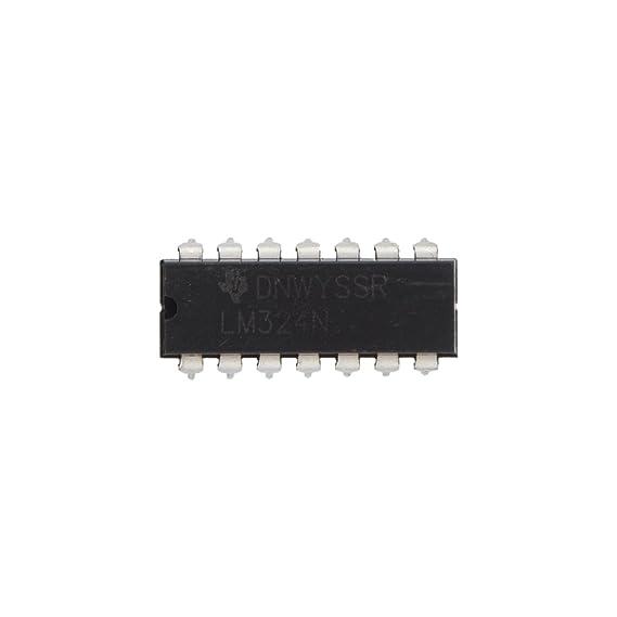Amplificador - TOOGOO(R) 10 x LM324N baja potencia Quad DIP-14 Amplificador operacional: Amazon.es: Electrónica