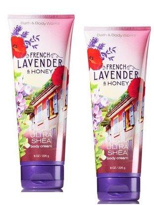 (Bath and Body Works French Lavender & Honey Ultra Shea Body Cream 8 Oz. 2)