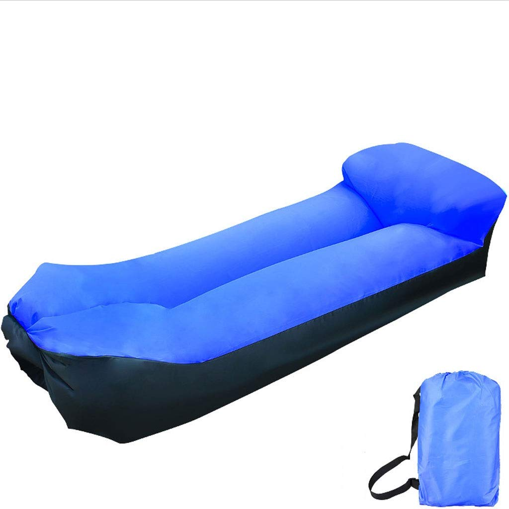 Inflatable Lounger Air Sofa Blow Up Couch Chair Outdoor Lazy Sofa Air Lounger Inflatable Lazy Bag Air Hammock Portable-Couch for Beach Traveling Camping Park Picnics & Swimming Pool by Chenguojian