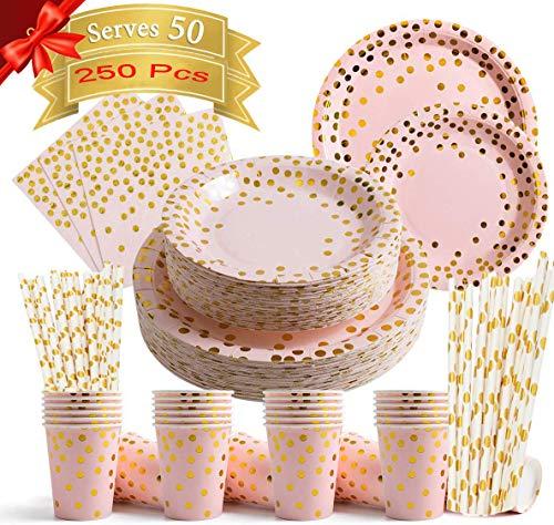 Party Paper Plates Set