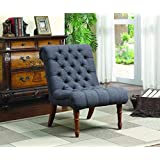 Coaster Casual Charcoal Grey Accent Chair