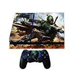 Premium Designer Limited Edition Playstation 4 Skin Ps4 Star Wars Boba Fett + 2 Free PS4 Controller Skins from Kunashi