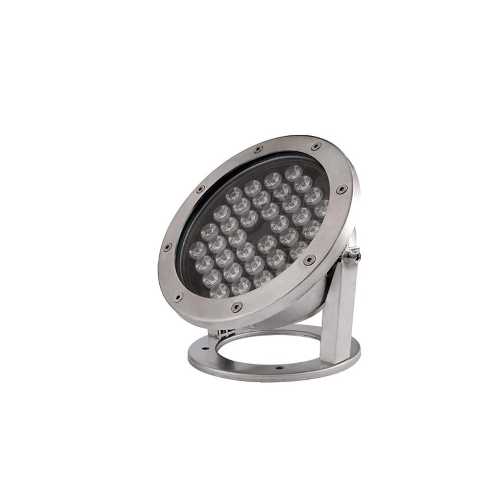 Pinjeer Super Bright 36W Led Rotatable Underwater Underground Path Light IP68 Waterproof Stainless Steel In-ground Lamp Landscape Lawn Pool Fountain Decorative Buried Lamp (Color : Yellow Light)