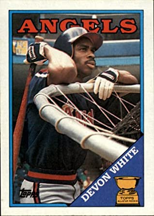 Amazon.com: 1988 Topps Baseball Card #192 Devon White Mint ...