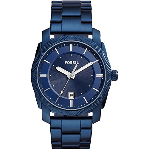 Fossil-Mens-Quartz-Stainless-Steel-Casual-Watch-ColorBlue-Model-FS5231