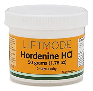 Hordenine HCl Powder - 50 Grams (1.76 Oz) - 98% Pure - FBA by LiftMode by LiftMode