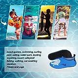 Kkomforme Kids Beach Water Shoes Non-Slip Quick Dry