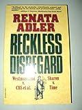 Reckless Disregard, Renata Adler, 0394755251