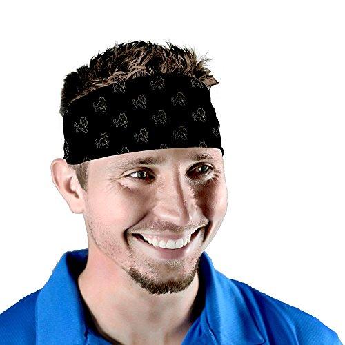 Adelphi University Panthers Wallpaper Black Headband