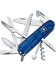 Victorinox Scyzoryk Huntsman, Swiss Made, 15 funkcji, nożyczki, piła do drewna, korkociąg, otwieracz do butelek, narzędzie do zdejmowania izolacji drutu