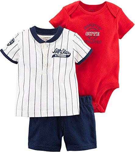 - Carter's Baby Boys' 3 Piece Little Short Set 6 Months
