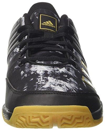 Pour Black Chaussures White Ftwr core Ligra Hommes 5 Handball Adidas Met De Noir Gold SXwzxE
