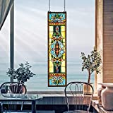 Design Toscano Tiffany Style Stained Glass Window