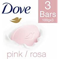 Dove Pink Rosa Beauty Bathing Bar, 100g (Pack of 3)