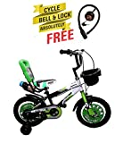 Speed Bird Cycle Industries Speed Bird Sports Kids Cycle - Baby Cycle For Boys & Girls - Age Group 3-6 Years (Color Green)