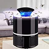Ruiyue Indoor Mosquitos Trap,Mosquito Killer USB Power Mosquito Trap For Indoor Outdoor Home/Office Use Anti-Mosquito Insect Fly Led Lamp Flying Catcher Led lighting (Color : Black)
