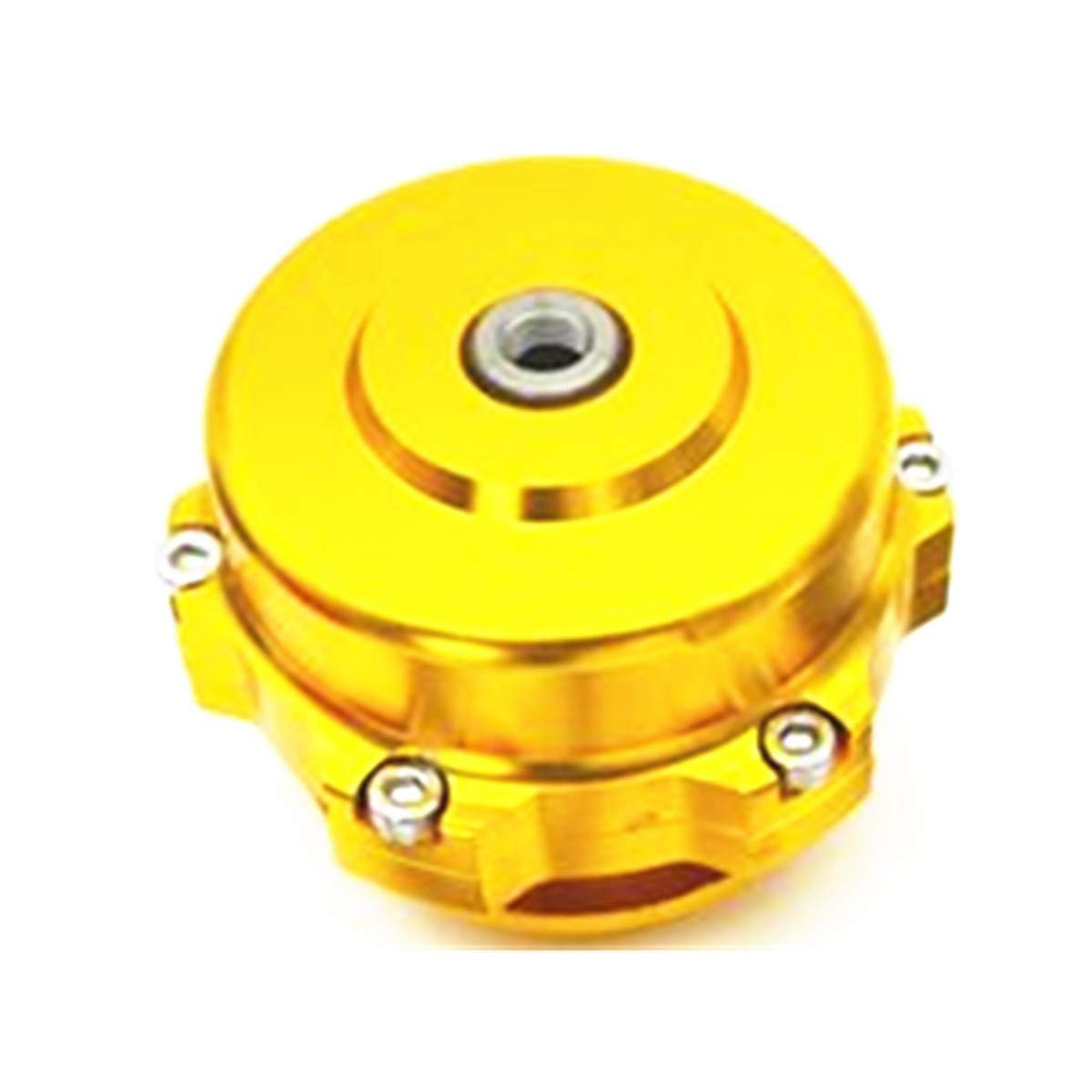 TIKSCIENCE Universal 50mm BOV V-Blowing Valve with Tial Style Dump Valve with Aluminum Flange BOV Silver Yellow Red Blue Purple Black