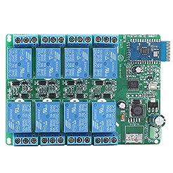 5V 8 Channel Bluetooth Relay Board Remot...