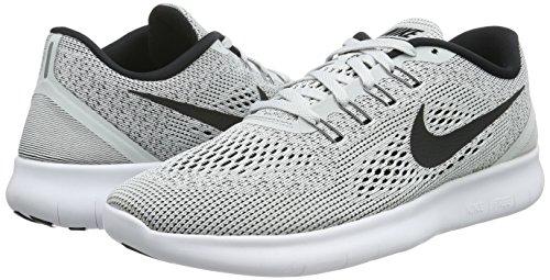 Nike Men's Free RN Running Shoe White/Pure Platinum/Black Size 7.5 M US by Nike (Image #5)