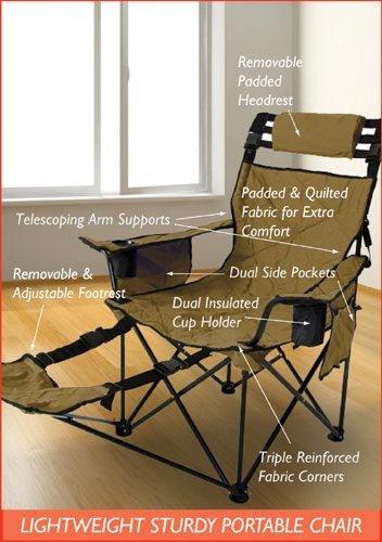 Amazon.com: `Chair Bariatric Folding Travel (Mr. Big): Health ...