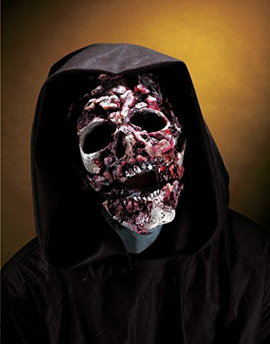 [Rubie's Prosthetic Ghoul Zombie Latex Face Piece Kit] (Zombie Prosthetics)