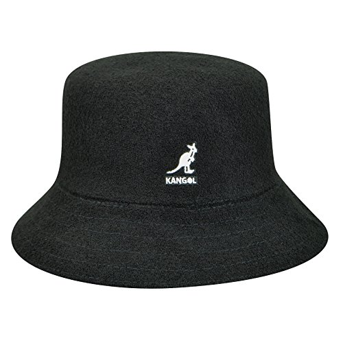 Kangol Men's Bermuda Bucket, Black, Large
