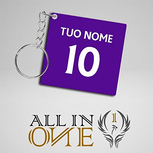 Llavero Camisetas Camiseta con il Tuo Nombre Fiorentina ...