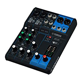 Yamaha MG06 6-Input Compact Stereo Mixer