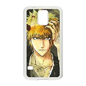 Anime Bleach For Samsung Galaxy S5 I9600 Cases Cell phone Case Lbcn Plastic Durable Cover