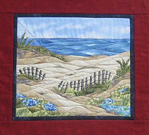Quilt Beach Patterns - Life's A Beach - NEW Form of Foundation Paper Piecing (Picture Piecing) Pattern - 17 1/4