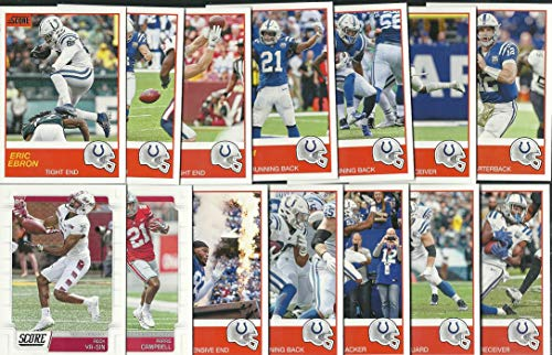 - 2019 Panini Score Football Indianapolis Colts Team Set 14 Cards W/Drafted Rookies