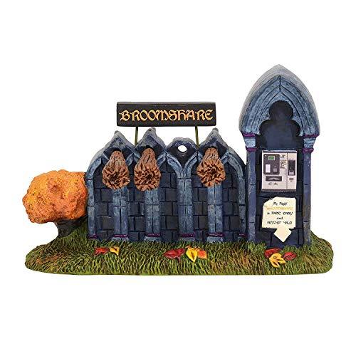Department 56 Village Collections Accessories Halloween Broomshare Figurine, 3.75