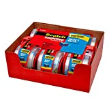 Scotch Heavy Duty Shipping Packaging Tape, 6