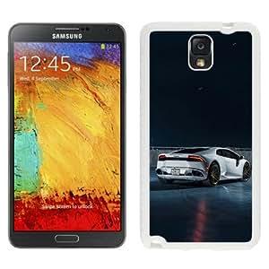 NEW Unique Custom Designed Samsung Galaxy Note 3 N900A N900V N900P N900T Phone Case With Lamborghini Huracan ADV005MV2CS_White Phone Case