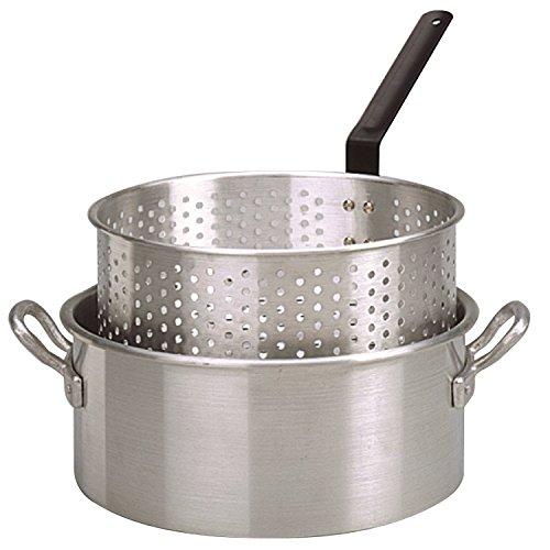 King Kooker KK2 9-Quart Aluminum Fry Pan with Basket by King Kooker