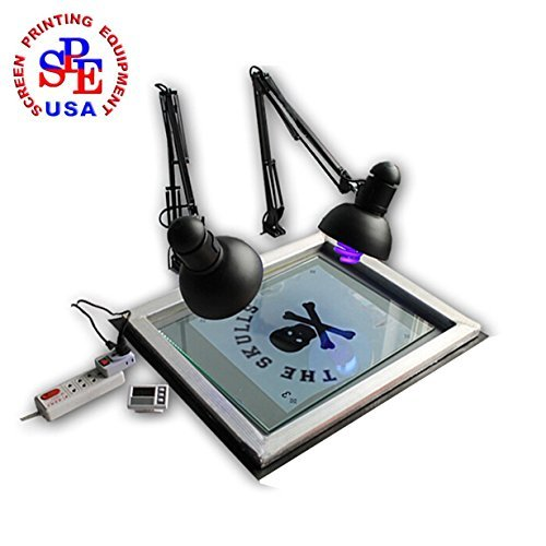 Screen Printing Simple Type UV Exposure Unit Stencil Ink-jet Making Plate (Screen Unit)