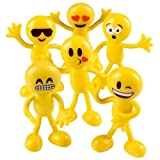Emoji Party Favors Bendable – 24 Emoji Smiley Face Emoticon Bedabbles For Party Favors, Goody Bag Stuffers, Birthday Party Supplies, Basket Fillers, Loot Bags, For Classroom Home Office Carnivals
