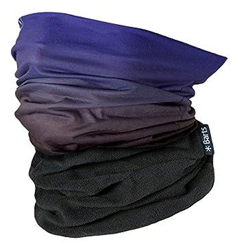 Barts Multicol Polar Dip Dye, Set sciarpa, cappello e guanti Unisex - Adulto, Nero, Taglia unica