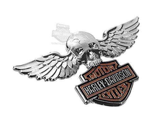 Harley Davidson Pin Skull W Wings B S