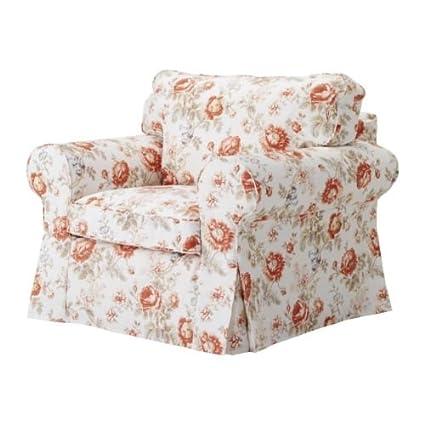 Ikea Ektorp Armchair Cover, Chair Slipcover Byvik Multicolor