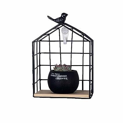 Amazon.com: Soporte para macetas con soporte de pared, para ...