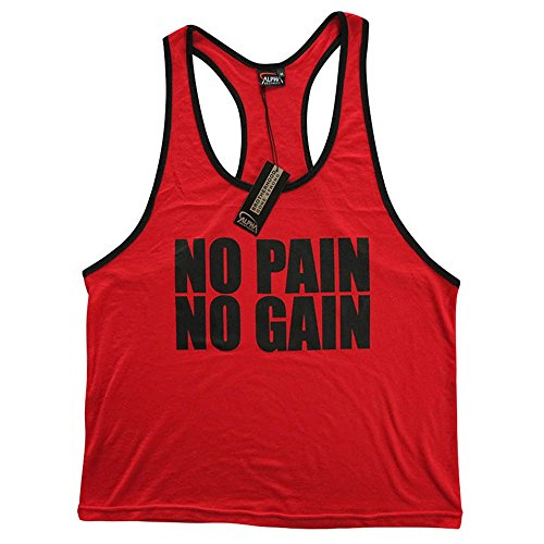 775f9443 CRAZYBODIES Pain Men's Stringer Bodybuilding Fitness Muscle Workout Gym Tank  Top Singlet - Buy Online in UAE.   Apparel Products in the UAE - See  Prices, ...
