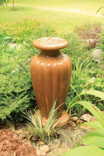 Aquascape Classic Greek Urn Fountain with Pump Powdered Terra Cotta, X-Large