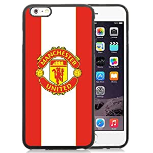 NEW Unique Design Soccer Club Manchester United 08 Football Logo iPhone 6 Plus 5.5 Inch Cell Phone Case