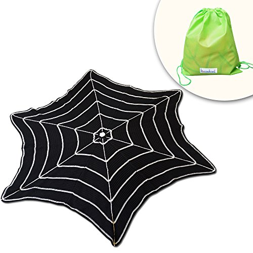 Black Spider Web Tablecloths