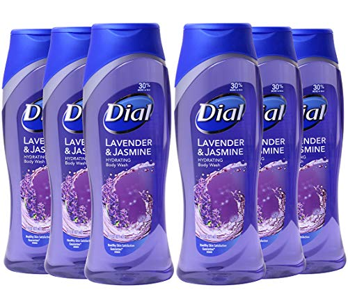 Dial Clean Refresh Body Wash, Lavender Twilight Jasmine, 21-Ounce Pack of 6