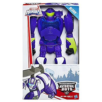 Playskool Transformers Rescue Bots Blurr Figure: Toys & Games