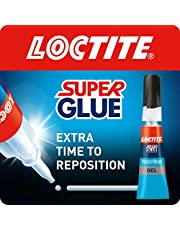 Loctite Super Glue Power Easy Gel / Extra sterke gel niet-druppellijm voor leer, rubber, hout, metaal, porselein, papier, kunststof