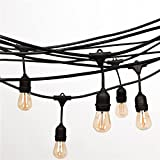 Fulelight Outdoor String Lights for Patio ,Bedroon,Gardens, Home, Dancing, ...