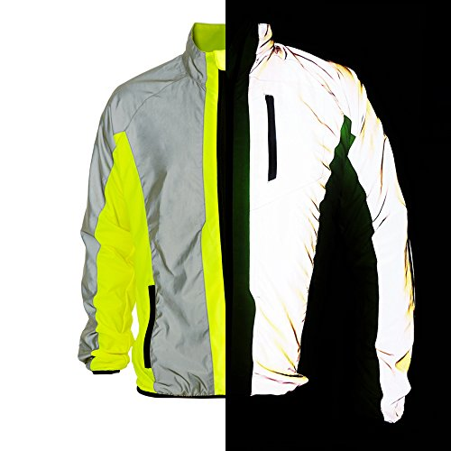 BTR Hi Vis Reflective Jacket Ideal For Cycling 832a7ace1